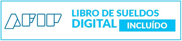 Libro de sueldos digital AFIP